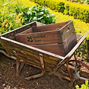 Wheelbarrow by Andrew Robinson - Artistic Objects Other Objects ( hdr, wheelbarrow, packwood, packwood house )