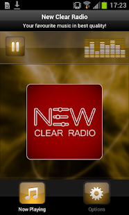 New Clear Radio - screenshot