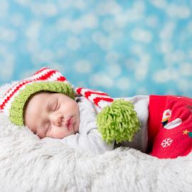Christmas Baby by Teodora Zamfir - Babies & Children Babies