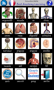 Best Anatomy Learning screenshot for Android