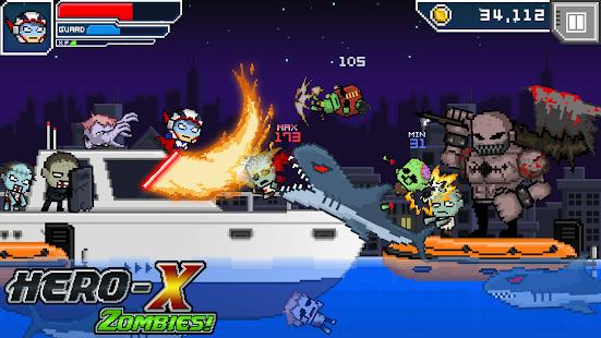 HERO-X: ZOMBIES! apk screenshot