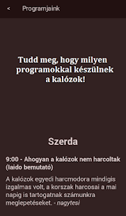 Kalóz iránytű - screenshot