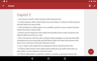 Screenshot of Bibbia in Italiano ITRIV