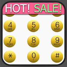 exDialer White-Gold theme