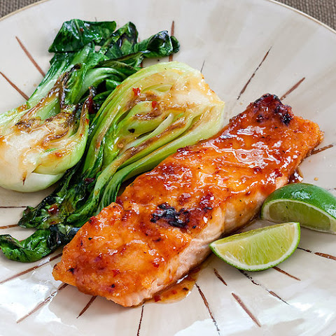 Sweet Chili Sauce Glazed Salmon Recepten | Yummly