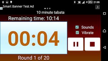Screenshot of Interval Timer 4 HIIT Training