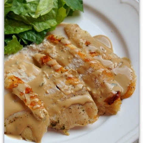 3-Ingredient Slow Cooker Turkey Breast and Gravy