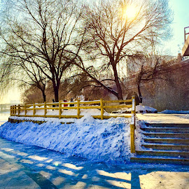Winter scenery by Chong Kok - Landscapes Weather