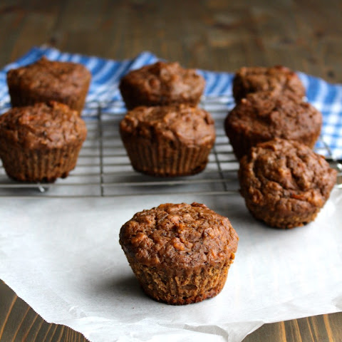 Whole Wheat Carrot Banana Muffins