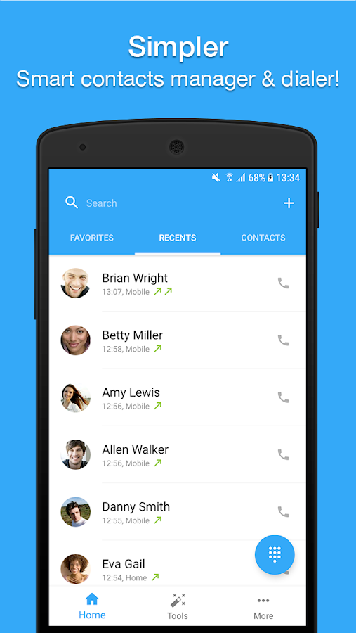 Contacts, Dialer, Phone & Call Block by Simpler Screenshot