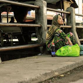 Thankful by Kristian Hadinata - People Street & Candids ( tone, woman, poor, human interest )