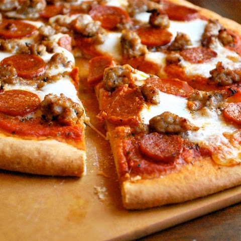 Spicy Sausage And Sweet Pepper Pizza Recipes — Dishmaps