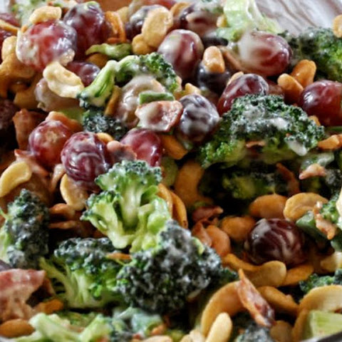 The Easiest Broccoli Salad