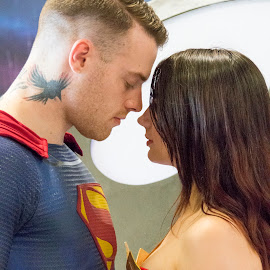 Super couple by Kellee Wright - People Couples ( love, cosplay, costume, couple, people )