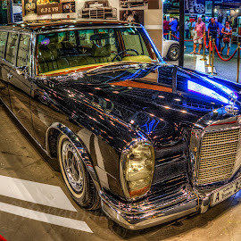 Vintage Mercedes by Abbas Mohammed - Transportation Automobiles ( love, old, dubai, classic, mercedes )