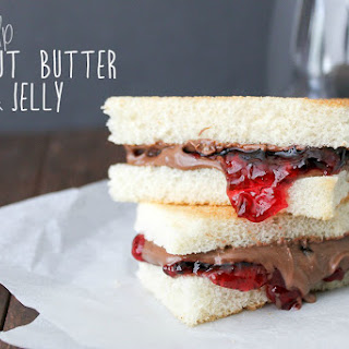 Grown Up Peanut Butter and Jelly