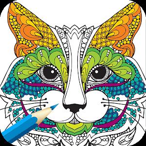 App Adult Coloring BookAnimals APK For Windows Phone