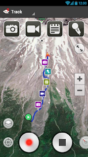 ramblr (hiking, gps, map) for pc
