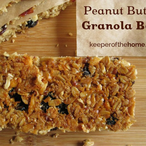 Perfect Peanut Butter Granola Bars