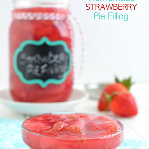 Homemade Strawberry Pie Filling