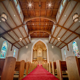 Immanuel Presbyterian Church by John Williams - Buildings & Architecture Places of Worship ( milwaukee, church, presbyterian, interior architecture, places of worship )