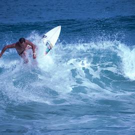 Ubatuba - Vermelinha do Centro by Lucas Mendonca - Sports & Fitness Surfing ( summer, sport, beach, surf, brasil )