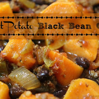 Sweet Potato Black Bean Chili