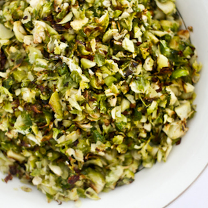 Shredded Brussels Sprouts with Parmesan Recipe | Yummly