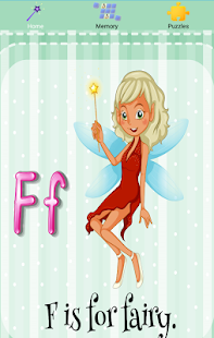 F is for Fairy Free - screenshot