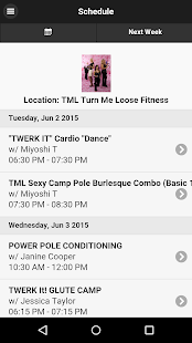 Turn Me Loose Fitness - screenshot
