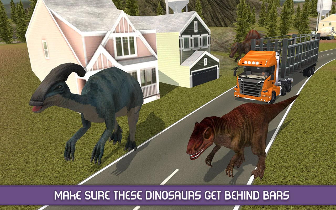 Angry Dinosaur Zoo Transport Screenshot 2