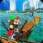 Water Games 3D: Stuntman Bike Water Stunts Icon