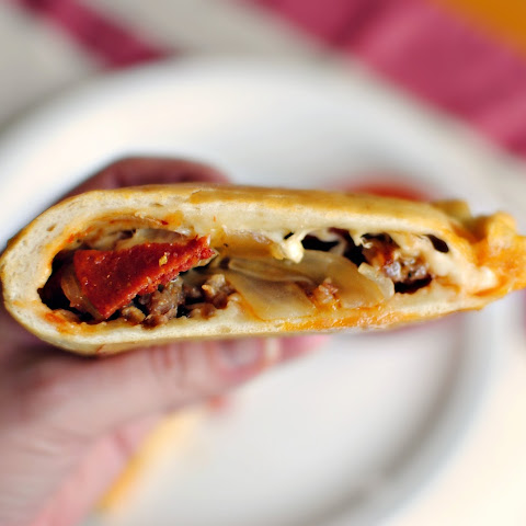Homemade Pizza Calzones