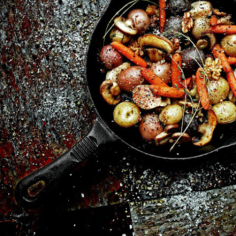 Rustic Roasted Country Vegetables and Herbs