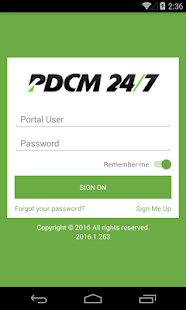 PDCM 24/7 - screenshot