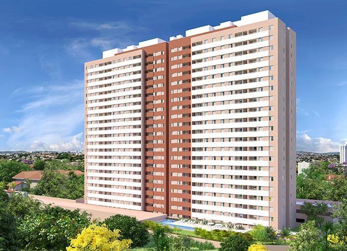 Apto residencial à venda de 54m² com 2 dorms em Mauá.