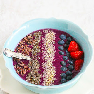 Blueberry Mango Smoothie Bowl