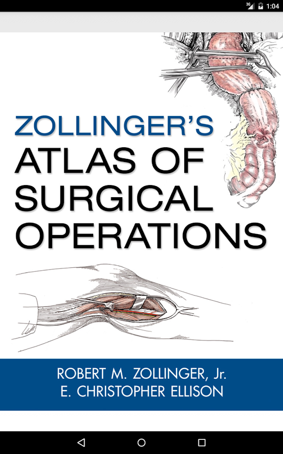 Zollinger's Atlas of Surgery Screenshot 16
