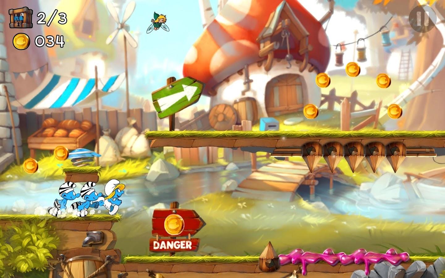Smurfs Epic Run Screenshot 12