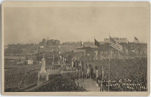 In 1921, more than 100,000 people gathered to see five supreme Allied commanders dedicate the site of the Liberty Memorial (today known as the National World War I Museum and Memorial.) This was the first time in history these leaders were together in one place.