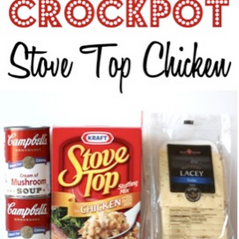 Crockpot Stove Top Chicken Recipe!