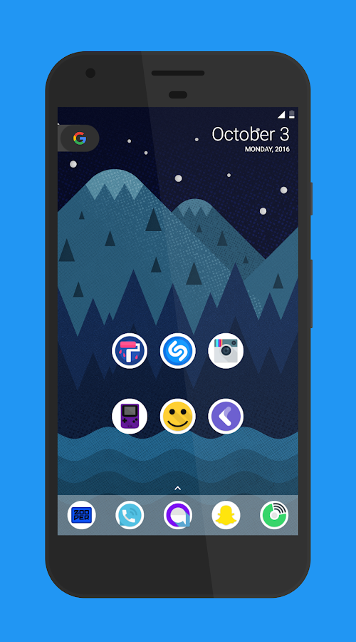 Pixie - Icon Pack Screenshot 2