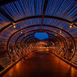 Dos Lagos Tube by Tom Anderson - Buildings & Architecture Public & Historical ( corona, dos lagos, tube, california, tunnel,  )