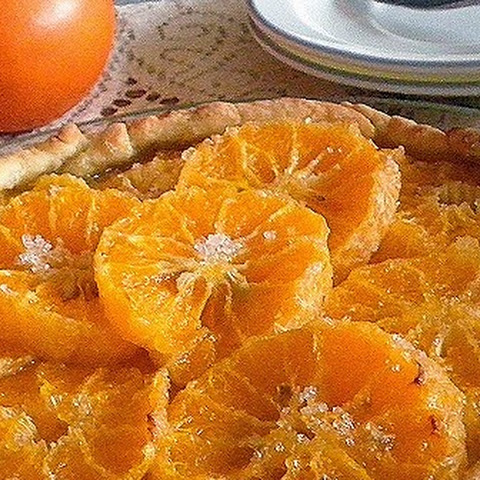 MANDARIN ORANGE CROSTATA