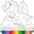 App Dino Coloring Game APK for Kindle