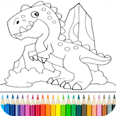 Download Dino Coloring Game APK to PC
