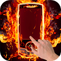 Fire Screen Prank APK for Bluestacks