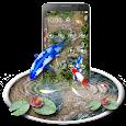 Free Koi Fish 3D Theme With Animation