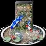 Free Koi Fish 3D Theme With Animation Icon