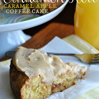 Caramel Apple Cinnamon Roll Coffee Cake